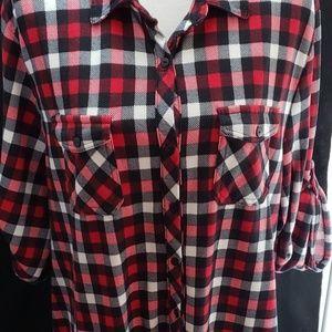 Eden & Olivia Plaid Shirt